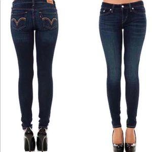 Plus Size Levi 515 Legging Jean medium wash
